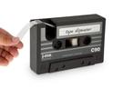 復古錄音帶膠台【NT018】桌上型 文具 日本 創意 復古 錄音帶造型 膠台 筆筒