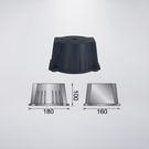 150W壓鑄鋁安定器盒