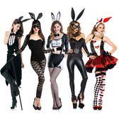萬圣節新款服裝性感派對服裝cosplay化妝舞會服裝成人兔女郎服裝     時尚教主