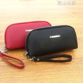 手拿包女大容量貝殼型韓版時尚裝手機鑰匙零錢包包小手包 青山市集