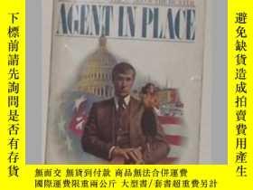 二手書博民逛書店英文原版罕見Agent in Place [Paperback]