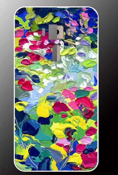 ♥ 俏魔女美人館 ♥ ASUS ZenFone 3 {彩色油畫*立體浮雕硬殼} 手機殼 手機套 保護殼