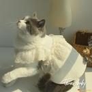網紅寵物狗狗貓咪衣服/法式蕾絲公主裙/純棉春夏透氣吊帶裙【小獅子】