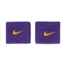 Nike Wristbands [NNN04512OS] 護腕 運動 打球 健身 單色 腕帶 吸濕 乾爽 彈性 紫黃