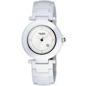 Vaness 白色典藏陶瓷腕錶