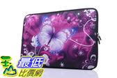[106美國直購] 防護袋 YIDA 15-15.6吋 B01LPFDMP8 Laptop Sleeve Case Handle Bag Neoprene Cover, Butterfly