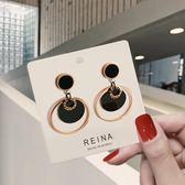 高級感鈦鋼耳環小眾2019新款潮長款時尚氣質會動的耳釘耳飾女 -享家生活館