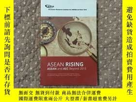 二手書博民逛書店ASEAN罕見RISING ASEAN and AEC Beyond 2015Y177057 出版201