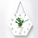 掛鐘北歐少女心小清新掛鐘客廳裝飾創意時尚簡約鐘錶臥室靜音時鐘 JD新品來襲