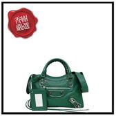 巴黎世家METALLICEDGEMINICITY/綠色390160全新商品