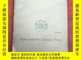 二手書博民逛書店hydromagnetic罕見channel flows(P3190)Y173412