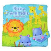 玩具 動物 觸感 數字 立體 布書 搖鈴 響紙 早教玩具 BW