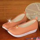 熱賣古風鞋子 宮池明制改良登云履古風古裝平跟厚底坡跟鞋子串珠漢服布鞋日常 coco