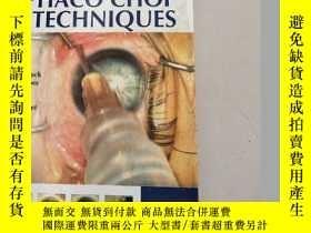二手書博民逛書店PHACO罕見CHOP TECHNIQUES劈核技術(沒勾畫)含2張光盤Y6318 MASTERING JAY