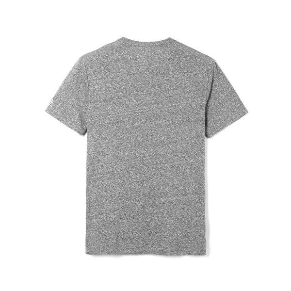Gap男裝 簡約印花圓領短袖T恤 443767-純正灰