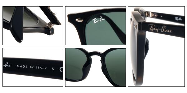 RayBan 太陽眼鏡 RB4258F 60171 (黑) 人氣經典流行款  # 金橘眼鏡