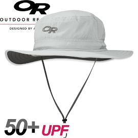 【Outdoor Research 美國 HELIOS SUN HAT輕量抗UV透氣中盤帽〈米白〉】243458/運動帽/防曬帽★滿額送