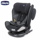 Chicco Unico 0123 Isofit 360度旋轉安全汽座-駭影黑