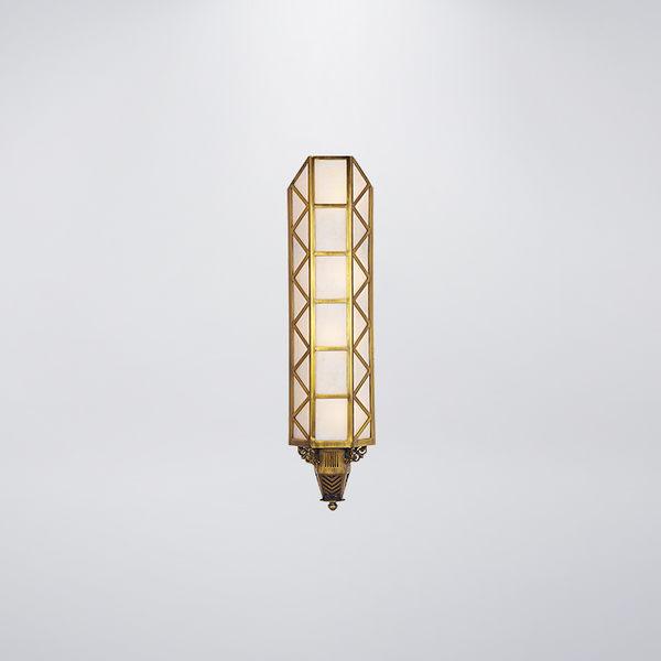 銅製大樓外牆燈 四燈防水型  可客製化 可搭配LED