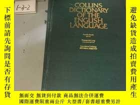 二手書博民逛書店外文原版:COLLINS罕見DICTIONARY OF THE