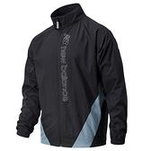 New Balance Sport Style Optiks 男裝 外套 休閒 亞規 防風 LOGO 黑【運動世界】AMJ11503BK