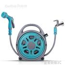 奧瑞馳自來水高壓噴頭洗車水槍澆花神器軟管家用搶水管便攜收納架YTL