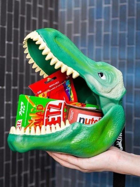 便當盒 Suck UK仿真恐龍頭午餐盒便當盒兒童學生可愛便當盒送小孩禮物男女 【低價爆款】LX