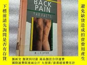 二手書博民逛書店BACK罕見PAIN THE FACTS 32開 精裝【館藏】Y