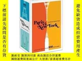 二手書博民逛書店Paris罕見Versus New York Postcard BoxY362136 Vahram Murat