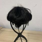 無痕假髮自然隱形一片式假髮片頭頂遮蓋白髮短卷(777-11487)