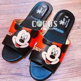 正版授權 迪士尼 米奇米妮 米奇 室內拖鞋 防滑拖鞋 26CM 米奇B款 COCOS GF098