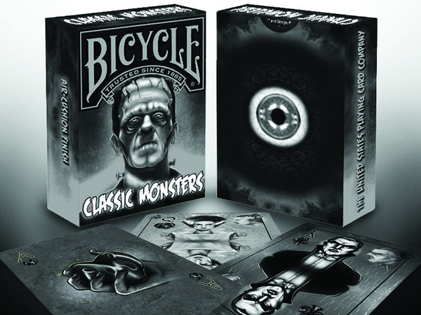 【USPCC 撲克】Bicycle CLASSIC MONSTERS playing cards經典怪物撲克