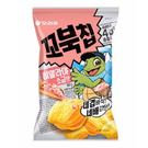 韓國 好麗友 烏龜玉米脆餅 80g-玫瑰...