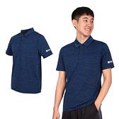 FIRESTAR 男彈性短袖POLO衫(運動上衣 慢跑 路跑  ≡排汗專家≡