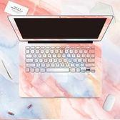 MacBook貼紙蘋果筆記本電腦保護貼膜外殼彩膜