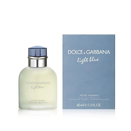 Dolce&Gabbana Light Blue 淺藍男性淡香水 40ml EDT【BG Shop】D&G