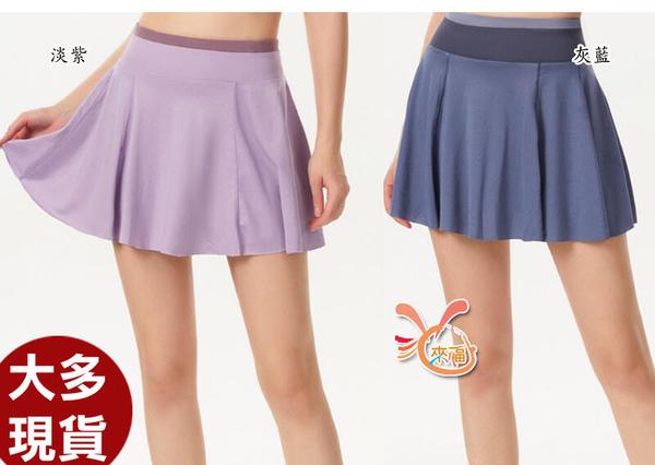 來福,B463貝絲運動短裙褲裙網球裙瑜珈慢跑M-XL正品,售價650元