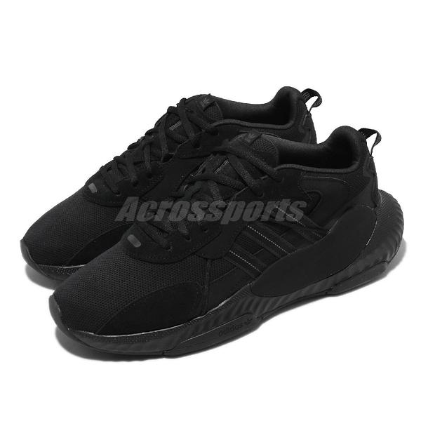 adidas 休閒鞋 Hi-Tail 全黑 黑 三葉草 復古 愛迪達 男鞋 運動鞋 黑魂 【ACS】 H69039