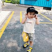 寶寶短袖t恤 純棉刺繡上衣小童體恤