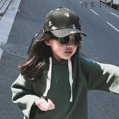 兒童鴨舌帽女童帽子百