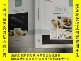 二手書博民逛書店【英文原版食譜】Create罕見inspiring recipes for every day of the we