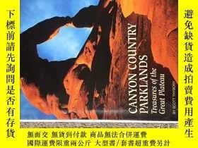 二手書博民逛書店美國國家地理專題Canyon罕見country parkland