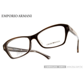 EMPORIO ARMANI 光學眼鏡 EA3032F 5222 (咖啡) 簡約時尚典藏款 平光鏡框 # 金橘眼鏡