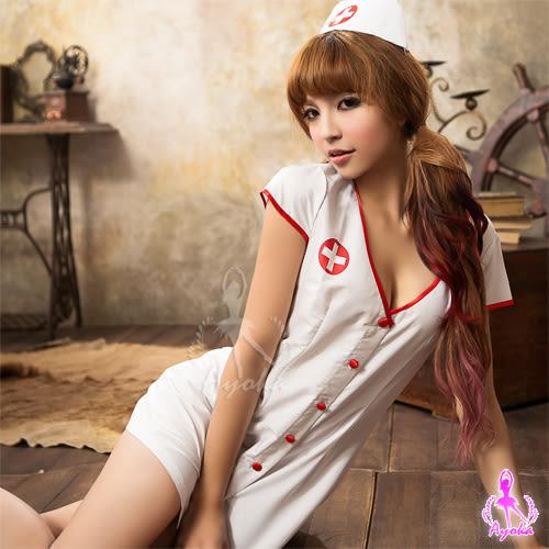 快樂天堂情趣用品  注射迷情 二件式護士制服角色扮演服 變裝派對
