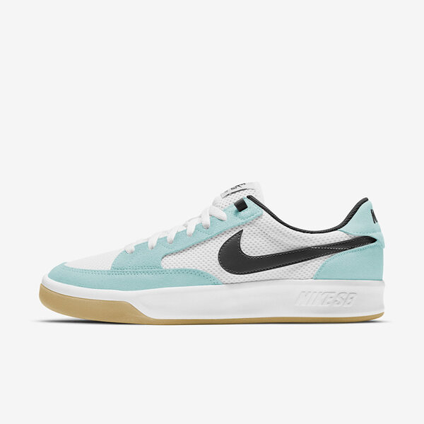 Nike Sb Adversary [CJ0887-300] 男鞋 滑板鞋 運動 休閒 緩震 抓地力 透氣 水藍 黑
