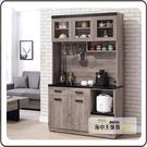 {{ 海中天休閒傢俱廣場 }} G-41 摩登時尚 餐櫃系列 A375-04 狄恩石面4尺餐櫃