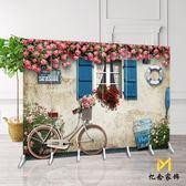 歐式屏風隔斷時尚酒店客廳辦公室美容院復古簡約現代折疊移動折屏定制QM『櫻花小屋』