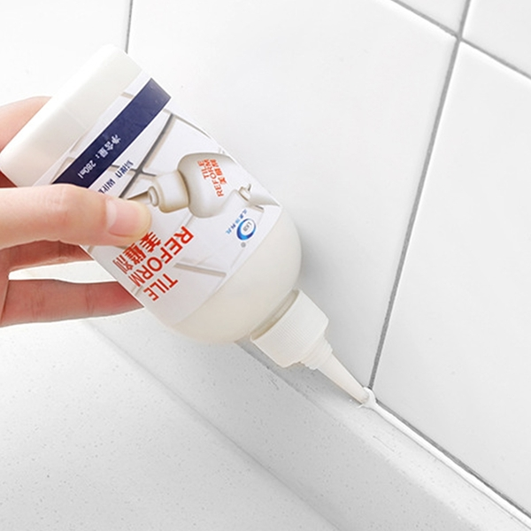 DIY磁磚填縫劑 防水 280ml 溝縫填補 磁磚填縫膏 修補【Z013】