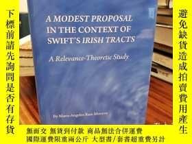 二手書博民逛書店A罕見Modest Proposal in the Contex