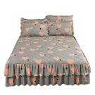 夾棉床裙式三件套加厚1.5m1.8米防滑塵保護床套床罩款單件床裙罩3 雙十二購物節